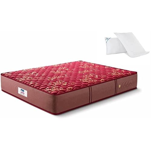 Peps Springkoil 6-Inch Bonnell Spring Mattress + 2 Pillows,( All Sizes Available )