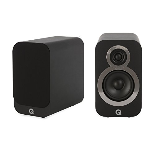 Q Acoustics 3010i Compact Bookshelf Speaker Pair (Carbon Black)