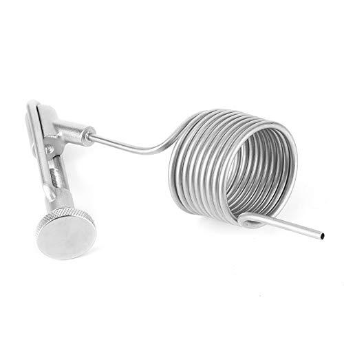 Válvula de muestreo Antiespumante Serpentina Tubo espiral Grifo Batidor para el hogar para máquina de cerveza de barril
