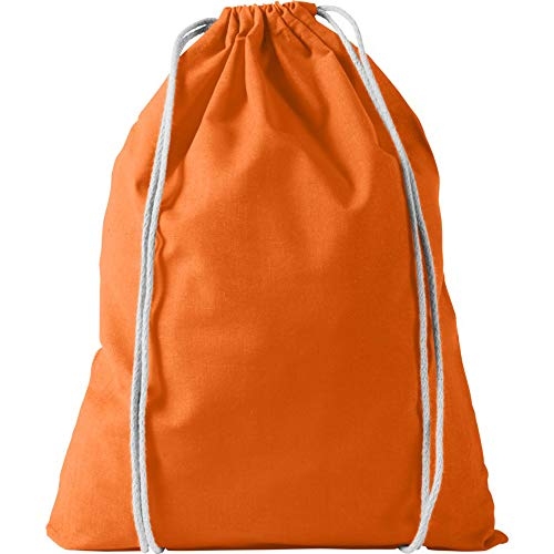 BULLET Oregon - Sac à cordon en coton (Taille unique) (Orange)