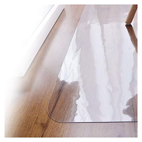 ALGWXQ Chair Mat for Hardwood Floor for Hard Floors Rectangular Table Pads Transparent Floor Protector,Multiple Sizes (Color : 2.0mm, Size : 50x80cm)