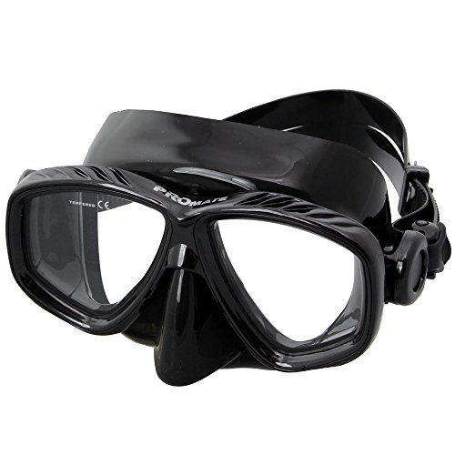 Promate Nearsight Optical Corrective Lenses Scuba Snorkeling Mask
