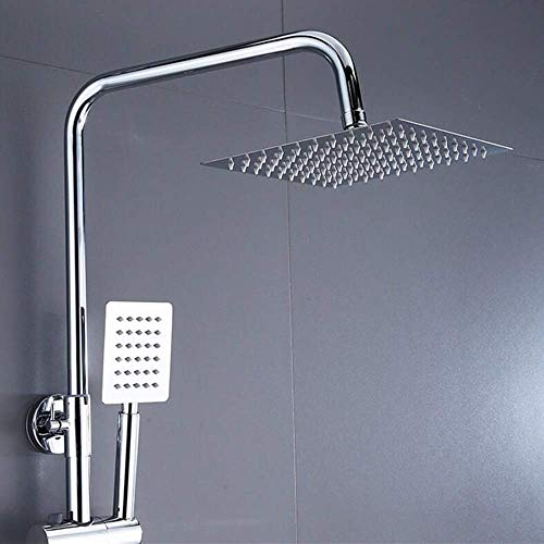 PYROJEWEL Ducha Baño de pared Set Inicio cobre Baño cabezal de ducha de baño Hermosa práctica Ducha