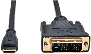 Tripp Lite Mini HDMI to DVI Cable, Digital Monitor Adapter Cable (Mini HDMI to DVI-D M/M) 3-ft.3' (P566-003-MINI)