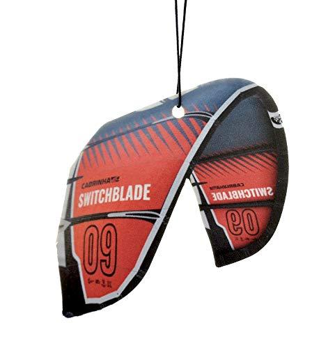 Kiteboard Duftbaum Duft WILDWASSER - Gadget für den Kitesurfer - Kitesurfing Auto Duftbaum 2021 (Cabrinha Switchblade)
