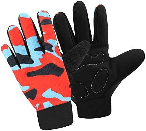 Accmor Kids Cycling Gloves Kids Fishing Gloves Kids Sport Gloves Breathable Non Slip Children product image