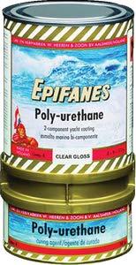 EPIFANES Pinselverdünnung für PU-Lack, 500ml für Polyurethane Lacke E7-4A Verdünnung