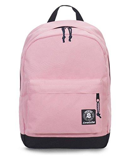 ZAINO INVICTA - CARLSON - Rosa - tasca porta pc padded - americano 27 LT