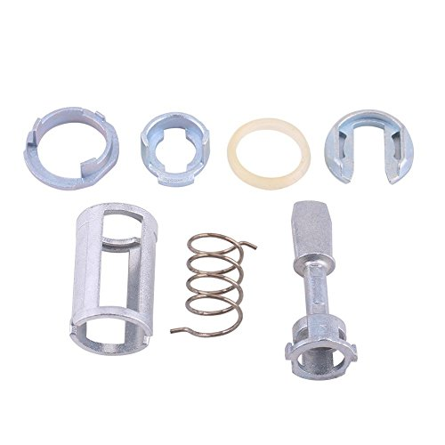 Reparatursatz für Türschloss Zylinder, Reparatursatz für Tür Schließzylinder Vorne Links Rechts Ersatzteile für Golf IV 4 Type 1J1 MK4 für Golf IV4 Variant Type 1J5 für Bora Limouisine/Kombi