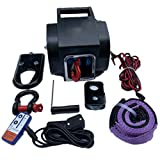 SWTY Cabrestante Manual con trinquete, Extractor Manual de Cable Cabrestante Manual Cable Manual, 1 tonelada / 2 toneladas / 4 toneladas de Acero de Alto Carbono Cable de trinquete Tensor de polea