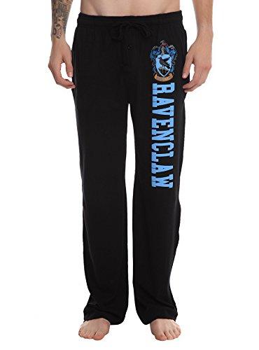 Hot Topic Harry Potter Ravenclaw Guys Pajama Pants (XX-Large) Black,Blue