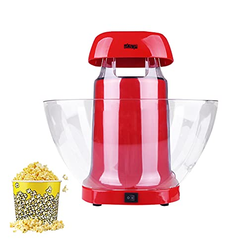 YTNP 1200W Popcorn Maker, Air Popper Machine,Hot Popcorn Maker Machine for Home,Nonstick Plate, Electric Stirring with Quick-Heat Technology, Cool Touch Handles, Healthy Less Fat