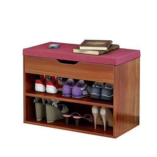 Zapato Rack / Gabinete de calzado moderno simple Inicio zapato Banco consola Gabinete de almacenamiento práctico de diseño de la comodidad respirable de carga 80 kg Tamaño Longitud Ancho 60cm * 30cm *