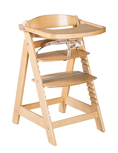roba Chaise haute évolutive 'Sit Up Click & Fun', chaise haute avec plateau amovible et arceau, une fermeture à clic innovante, chaise haute qui suit la croissance de votre enfant
