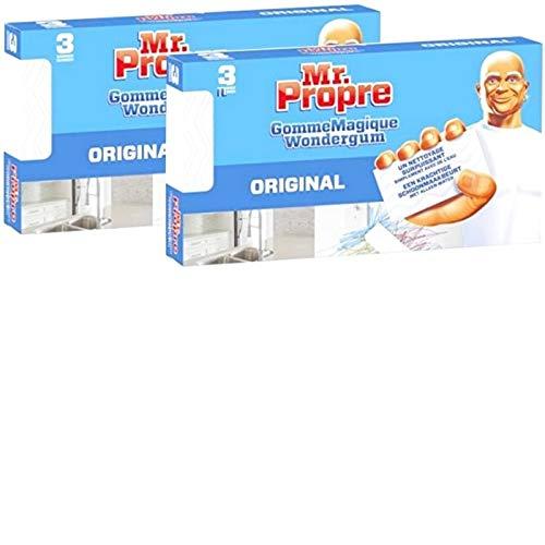 DON LIMPIO - 6 esponjas mágicas gomas limpiadoras originales,Borrador mágico, goma Mágica Limpiadora