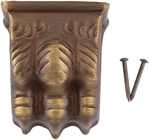 Brass furniture leg caps _image2