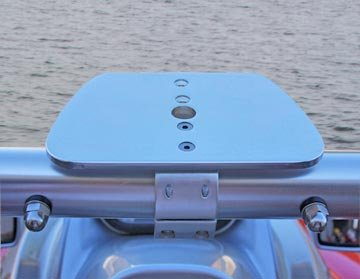 FISHMASTER MARINE TOWERS AND ACCESSORIES Wide PWC Radar Accessory Mount