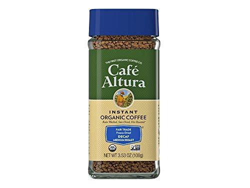 Cafe Altura Decaf Instant Coffee