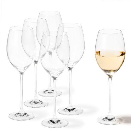 Leonardo 81431 Cheers Set de 6 Verres Vin Blanc