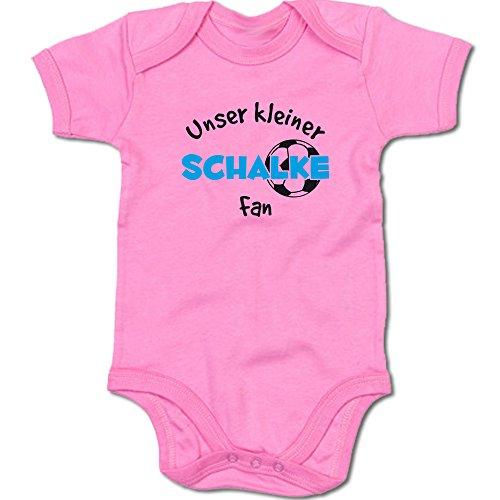 G-graphics Unser Kleiner Schalke Fan Baby-Body Suite Strampler 250.0480 (0-3 Monate, pink)