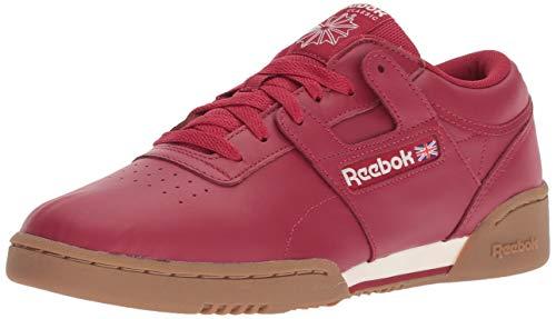 Reebok Herren Training, sauber (Workout Clean), Cranberry Red/Kreide G, 41 EU