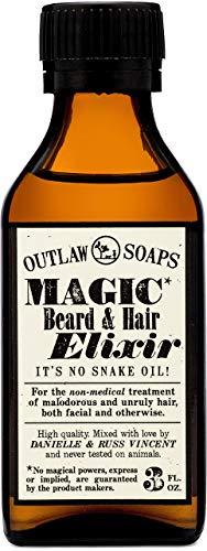 Outlaw Magic Beard and Hair Elixir - Smoky, Woody Cedar Beard Oil - A Fantastic Beard Oil for all Your Beard Care (and… 1