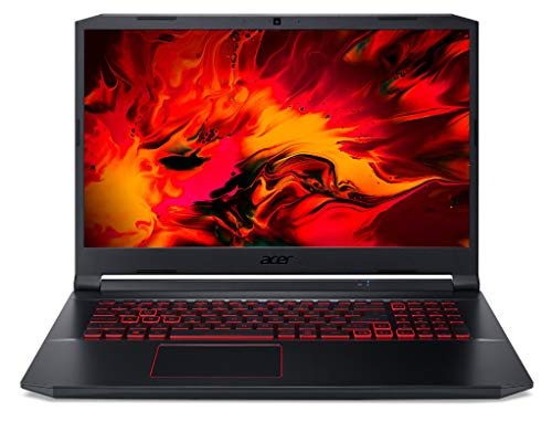 Acer Nitro 5 (AN517-52-516K) 43,9 cm (17,3 Zoll Full-HD IPS matt) Gaming Laptop (Intel Core i5-10300, 8 GB DDR4 RAM, 512 GB PCIe SSD, NVIDIA GeForce GTX 1650, Linux (eShell)) schwarz
