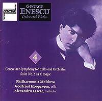 Enescu:Conc.Sym.Cello Op.8