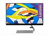 Lenovo Q24i-1L 60,45 cm (23,8 pollici, 1920 x 1080, Full HD, 75 Hz, WideView, antiriflesso) monitor (VGA, HDMI, tempo di risposta 4 ms, AMD FreeSync), grigio