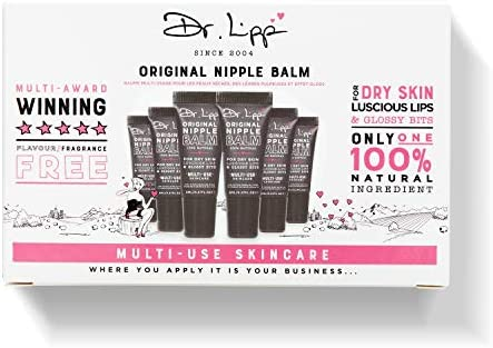 Dr Lipp Original Nipple Balm for Dry Skin Luscious Lips Glossy bits 6 Pack product image