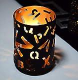 Hashcart traditionnel Bougie chauffe-plat/métal Bougie support de lumière/Designer Bougeoir support/décorations de table bougeoirs votives, Tea Light pour Home Salon et bureau