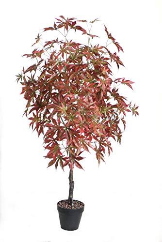 Best Artificial - Pianta da Giardino in Acero Giapponese, 120 cm