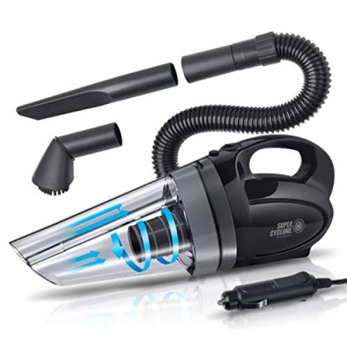 Lowest Price! Bullsone Extreme Power Car Vacuum Cleaner