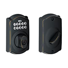 Create and delete access codes for trusted friends and family (up to 19) Installs in minutes no wiring needed Guaranteed to fit on standard doors; Customizable to fit your security needs Silicone coated keypad prevents numbers from wearing off. Door ...