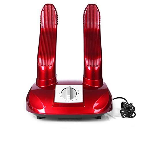 LAHappy Secador Des Botas,Secador Botas Esqui Secador Eléctrico Secadora Electrica Secador De Zapatos Secador De Calzado,Rojo