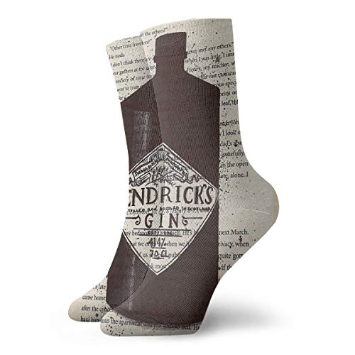 QMS CONTRACTING LIMITED Socken Weiche Wärmer Strümpfe 1 Paar Für Frauen & Männer Sport Socken Hendrick'S Gin 11,8 Zoll (30 Cm)