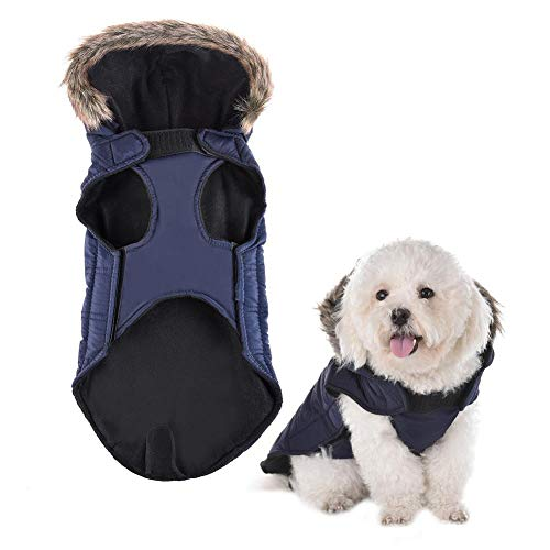 Morningtime Chien Chat Pet Puppy Chien Warmer Pullover VêTements Strick VêTements d'hiver Kostüme VêTements Chien Chaud Kapuzenpullis Manteau vêtements Pull Pour Animaux
