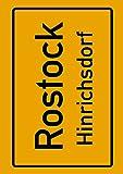 Rostock Hinrichsdorf: Deine Stadt, deine Region, deine Heimat!   Notizbuch DIN A4 kariert 120 Seiten Geschenk (German Edition)