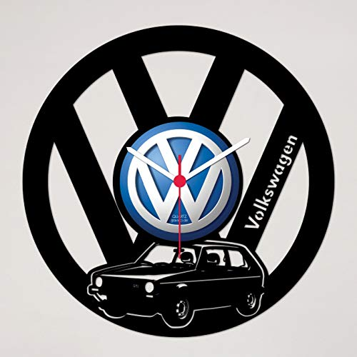 Gravinci.de Schallplatten-Wanduhr VW Golf 1