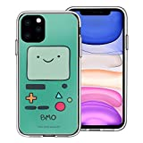 WiLLBee Compatible with iPhone 11 Case (6.1inch) Adventure Time Clear TPU Cute Soft Jelly Cover - Face Beemo (BMO)