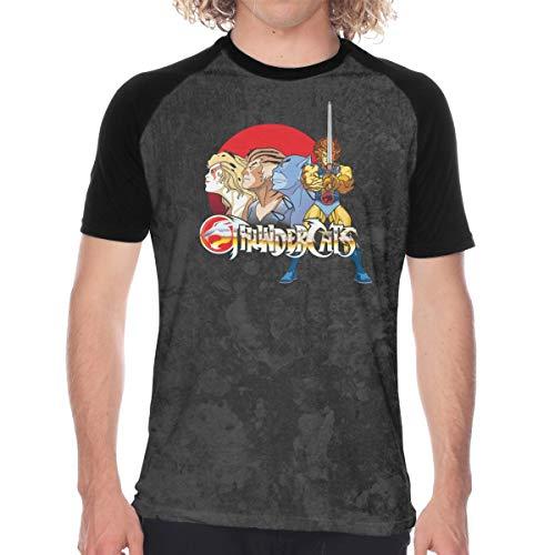 Thundercats Men Short Sleeve Cotton Baseball T-Shirt, S to XXL