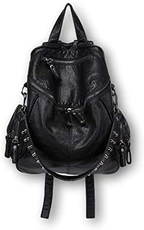 Ro Rox Calamity Womens PU Punk Gothic School Uni Studded Backpack Black product image