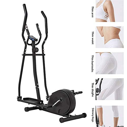 Magnetic Controle Upright Exercise BikeExercise Bike, Silent elliptische machine, thuis fitnessapparatuur, Space Walker, Indoor kleine magnetische stappenteller