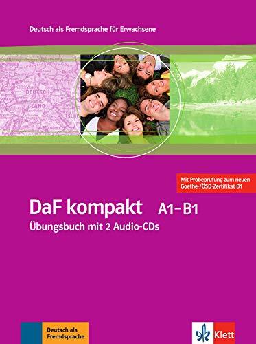 DaF Kompakt - Nivel A1-B1 - Cuaderno de ejercicios + 2 CD (Edición en un solo volumen) (ALL NIVEAU ADULTE TVA 5,5%)