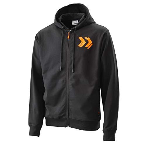 Original KTM Radical Zip Hoodie Jacke schwarz Gr. M
