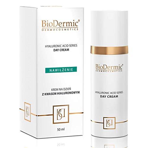 Tagescreme mit Hyaluronsäure, Anti-Aging, feuchtigkeitsspendend, glättendes und nährendes Dermokosmetikum, 50 ml BioDermic Dermocosmetics