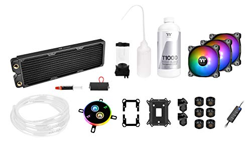 Kit de Watercooling Tube Souple Thermaltake Pacific C360 Ddc