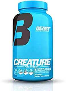 Sponsored Ad - Beast Sports Nutrition – Creature Creatine Complex – Fuel Muscle Growth – Optimize Muscle Strength – Enhanc...