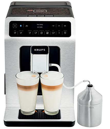 Krups - yy3070fd - Robot caf' 15 bars noir/silver evidence