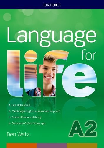 Language for life A2. Super premium.Student's book wb with obk with study app with 16 eread with 1 key online test [Lingua inglese]